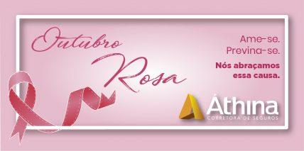 Banner Outubro Rosa esclarecimentos sobre o tema
